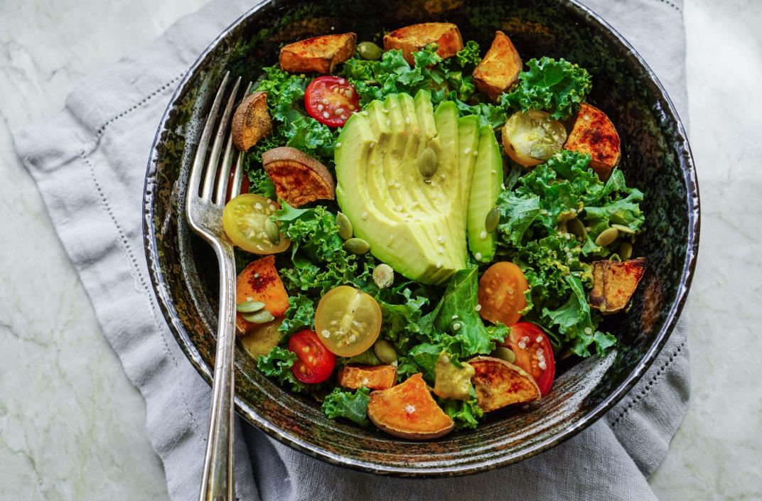 a healthy salad recipe
