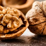 Two walnuts.